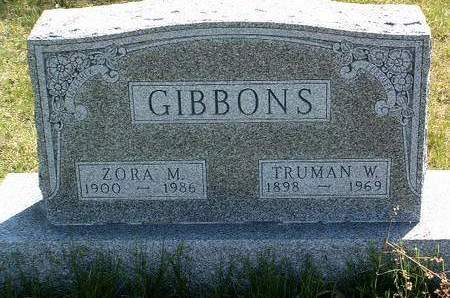 GIBBONS, TRUMAN WOODFORD - Madison County, Iowa | TRUMAN WOODFORD GIBBONS