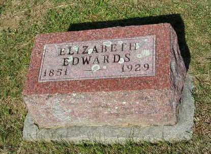 GIBSON EDWARDS, ELIZABETH - Madison County, Iowa | ELIZABETH GIBSON EDWARDS