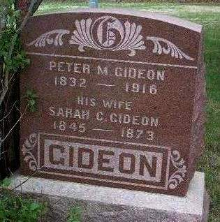 GIDEON, PETER MARION - Madison County, Iowa | PETER MARION GIDEON