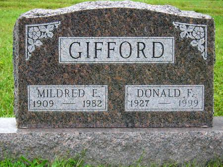 DYMOND GIFFORD, MILDRED ELIZABETH - Madison County, Iowa | MILDRED ELIZABETH DYMOND GIFFORD