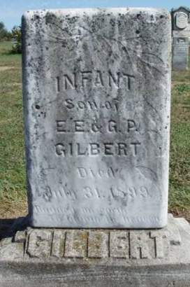 GILBERT, INFANT - Madison County, Iowa | INFANT GILBERT