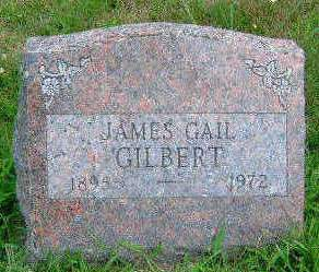 GILBERT, JAMES GAIL - Madison County, Iowa | JAMES GAIL GILBERT