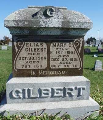 GILBERT, ELIAS SYLVESTER (ELI) - Madison County, Iowa | ELIAS SYLVESTER (ELI) GILBERT