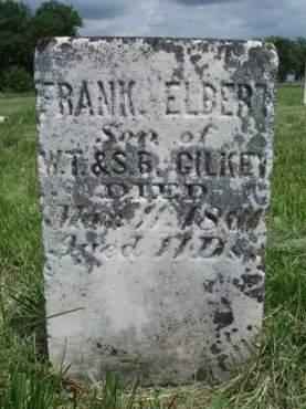 GILKEY, FRANK ELBERT - Madison County, Iowa | FRANK ELBERT GILKEY