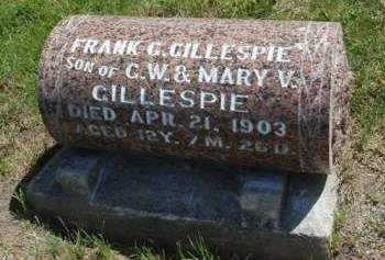 GILLESPIE, FRANK C. - Madison County, Iowa | FRANK C. GILLESPIE
