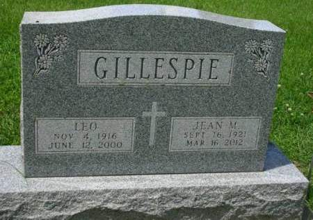 GILLESPIE, JEAN M. - Madison County, Iowa | JEAN M. GILLESPIE