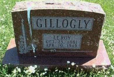 GILLOGLY, LEROY CLYDE - Madison County, Iowa | LEROY CLYDE GILLOGLY