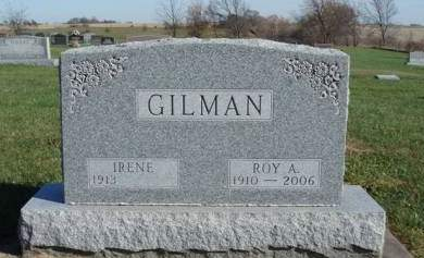 GILMAN, ROY ALBERT - Madison County, Iowa | ROY ALBERT GILMAN