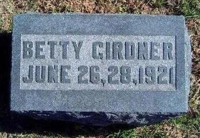 GIRDNER, ELIZABETH (BETTY) - Madison County, Iowa | ELIZABETH (BETTY) GIRDNER