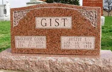GIST, JUSTIE E. - Madison County, Iowa | JUSTIE E. GIST