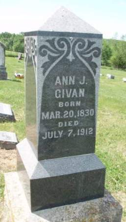 FARQUHAR GIVAN, ANNA JANE - Madison County, Iowa | ANNA JANE FARQUHAR GIVAN
