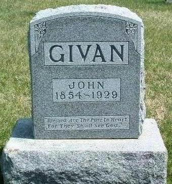 GIVAN, JOHN - Madison County, Iowa | JOHN GIVAN