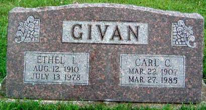 GIVAN, CARL C. - Madison County, Iowa | CARL C. GIVAN
