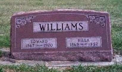 GOLDMAN WILLIAMS, AMARILDA MAY (RILLA) - Madison County, Iowa | AMARILDA MAY (RILLA) GOLDMAN WILLIAMS