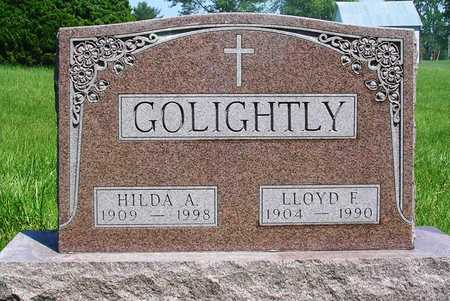 MARQUARDT GOLIGHTLY, HILDA AUGUSTA - Madison County, Iowa | HILDA AUGUSTA MARQUARDT GOLIGHTLY