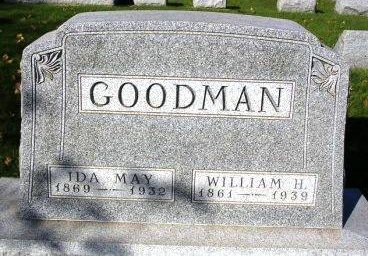 ALBRIGHT GOODMAN, IDA MAY - Madison County, Iowa | IDA MAY ALBRIGHT GOODMAN