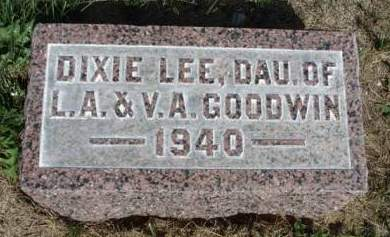 GOODWIN, DIXIE LEE - Madison County, Iowa | DIXIE LEE GOODWIN