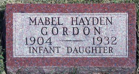 GORDON, INFANT - Madison County, Iowa | INFANT GORDON