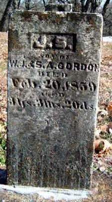 GORDON, J.  S. - Madison County, Iowa | J.  S. GORDON