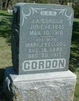 GORDON, MARY JANE - Madison County, Iowa | MARY JANE GORDON