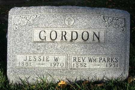 GORDON, JESSIE W. - Madison County, Iowa | JESSIE W. GORDON
