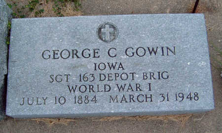 GOWIN, GEORGE CURTIS - Madison County, Iowa | GEORGE CURTIS GOWIN