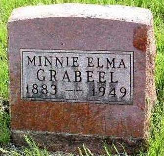 GRABEEL, MINNIE ELMA - Madison County, Iowa | MINNIE ELMA GRABEEL