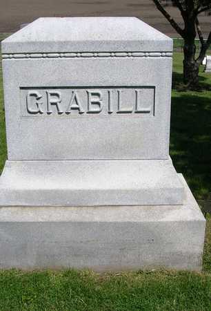 GRABILL, FAMILY HEADSTONE - Madison County, Iowa | FAMILY HEADSTONE GRABILL
