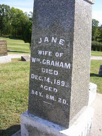 GRAHAM, JANE - Madison County, Iowa | JANE GRAHAM