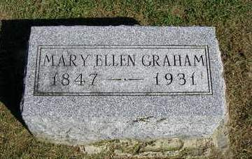 GRAHAM, MARY ELLEN - Madison County, Iowa | MARY ELLEN GRAHAM