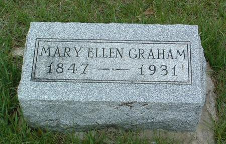 ANDERSON GRAHAM, MARY ELLEN - Madison County, Iowa | MARY ELLEN ANDERSON GRAHAM