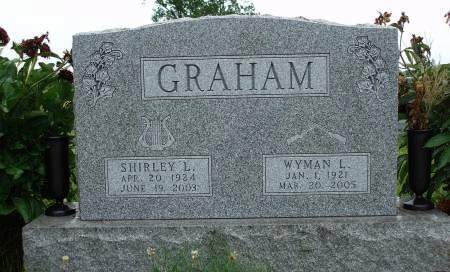 GRAHAM, SHIRLEY L. - Madison County, Iowa | SHIRLEY L. GRAHAM