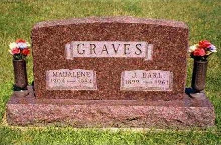 GRAVES, JOSEPH EARL - Madison County, Iowa | JOSEPH EARL GRAVES