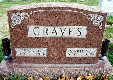 EVANS GRAVES, IRMA G. - Madison County, Iowa | IRMA G. EVANS GRAVES