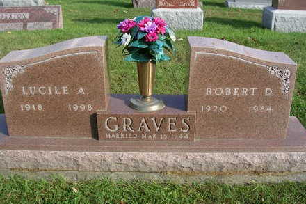 GRAVES, LUCILE ANNA - Madison County, Iowa | LUCILE ANNA GRAVES