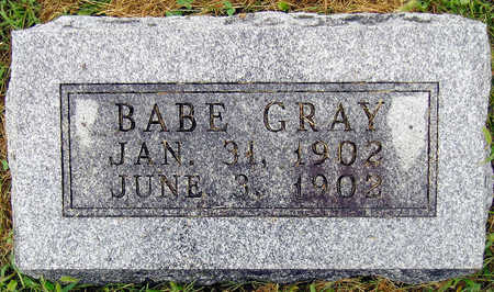 GRAY, BABE - Madison County, Iowa | BABE GRAY