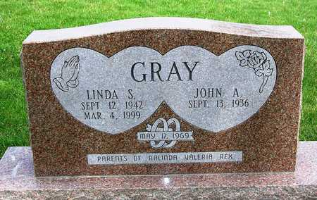 GRAY, JOHN ARTHUR - Madison County, Iowa | JOHN ARTHUR GRAY