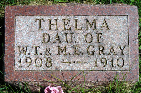 GRAY, THELMA - Madison County, Iowa | THELMA GRAY
