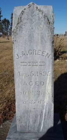 GREEN, JOHNSTON A. - Madison County, Iowa | JOHNSTON A. GREEN