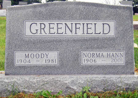 GREENFIELD, NORMA ELIZABETH - Madison County, Iowa | NORMA ELIZABETH GREENFIELD