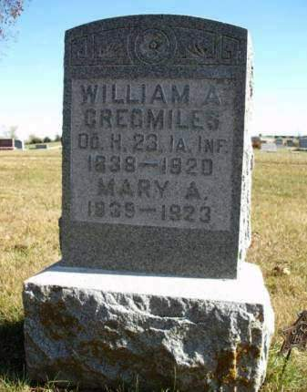 CREGMILES, WILLIAM ALEXANDER - Madison County, Iowa | WILLIAM ALEXANDER CREGMILES