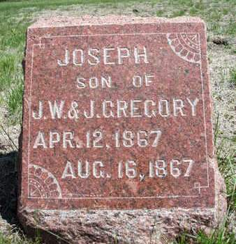 GREGORY, JOSEPH - Madison County, Iowa | JOSEPH GREGORY