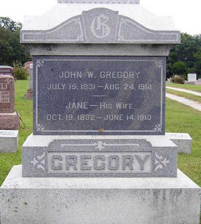GREGORY, JOHN WESLEY - Madison County, Iowa | JOHN WESLEY GREGORY