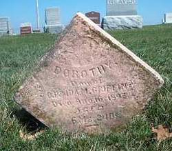 GRIFFIN, DOROTHY - Madison County, Iowa | DOROTHY GRIFFIN