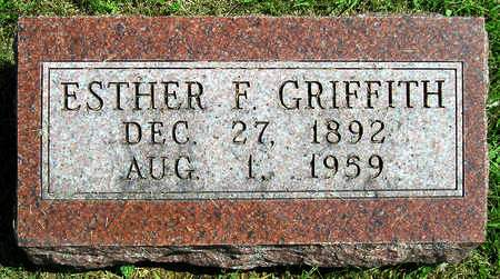 GRIFFITH RAY, ESTHER FLORENCE - Madison County, Iowa | ESTHER FLORENCE GRIFFITH RAY