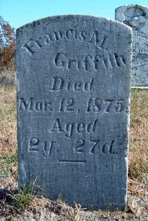 GRIFFITH, FRANCES MATILDA - Madison County, Iowa | FRANCES MATILDA GRIFFITH