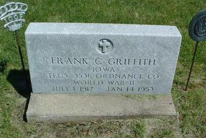 GRIFFITH, FRANK CHASE - Madison County, Iowa | FRANK CHASE GRIFFITH