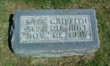 NORRIS GRIFFITH, SARAH CATHERINE (KATE) - Madison County, Iowa | SARAH CATHERINE (KATE) NORRIS GRIFFITH