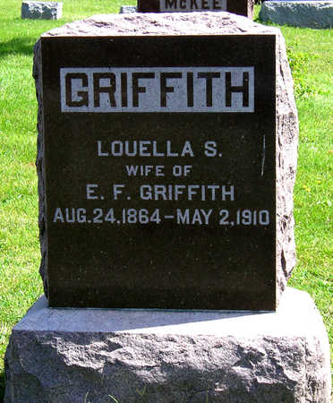 GRIFFITH, LOUELLA S. - Madison County, Iowa | LOUELLA S. GRIFFITH