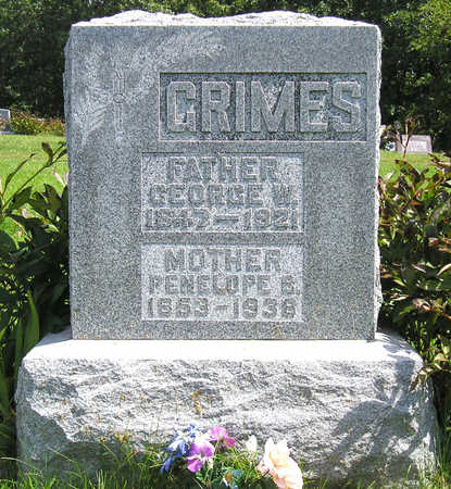 GRIMES, PENELOPE B. (NELLIE) - Madison County, Iowa | PENELOPE B. (NELLIE) GRIMES